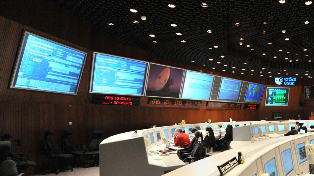 ESA/ESOC Control room