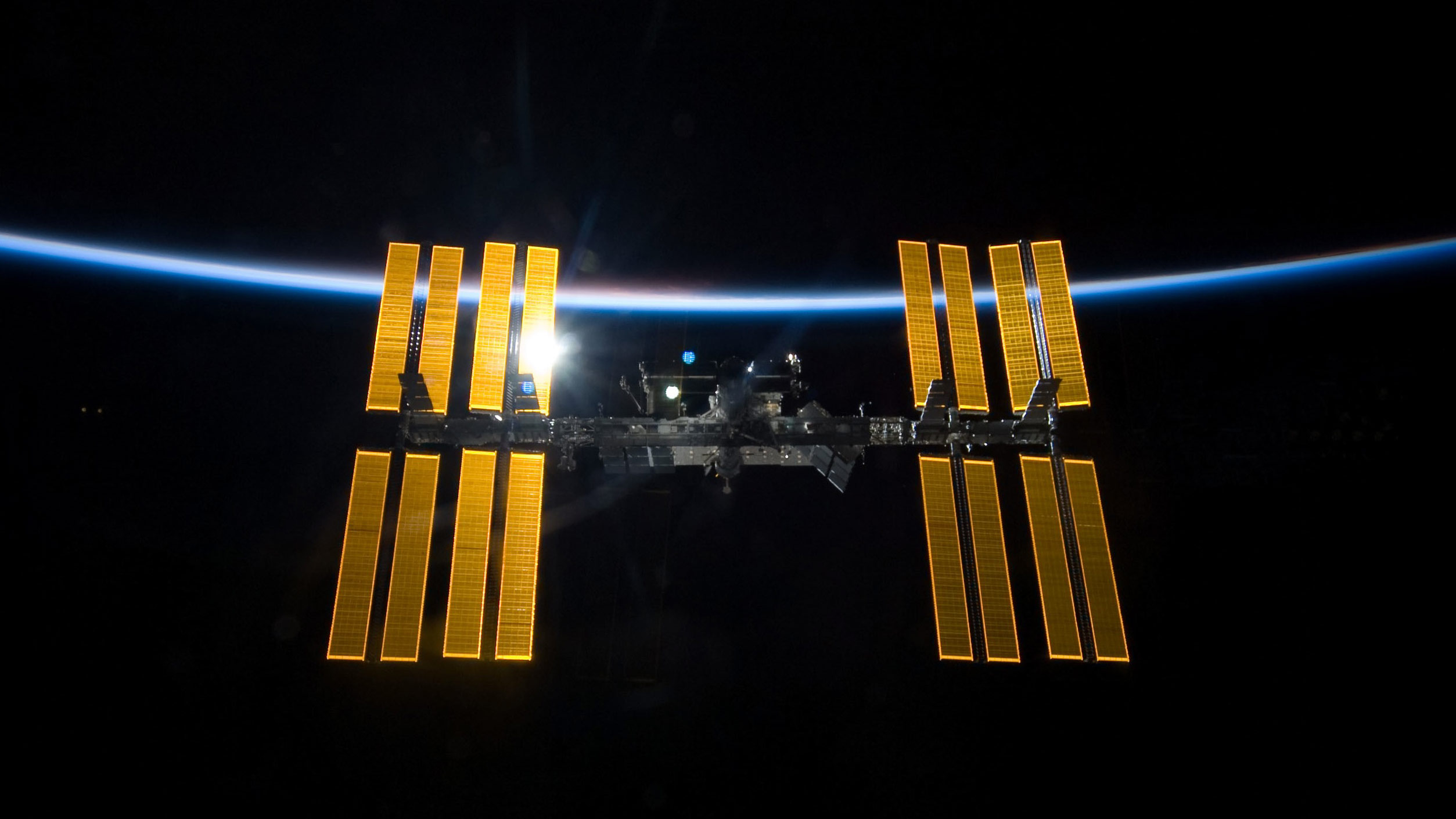 → Where is the ISS