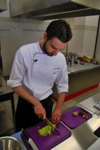 Stefano Polato al lavoro