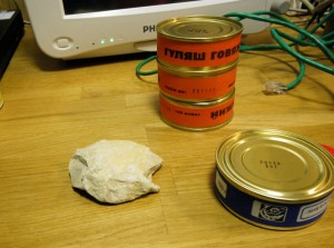 Alcuni esempi del cibo consumato dagli astronauti nella missione simulata su Marte
