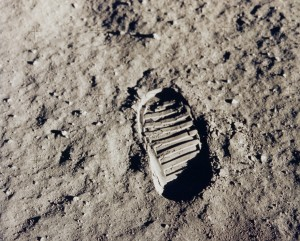 aldrin footprint